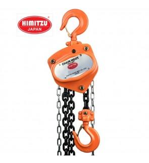 Himitzu (Japan) 1Ton x 5M Industrial Heavy Duty Single Strand Load Chain Block Chain Hoist