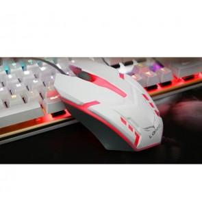 LOIOG 3D Colour Gaming Mouse (White)
