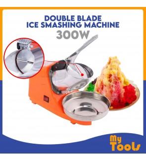 300W DOUBLE  Blade Ice Crusher Shaving / Ais Kacang Machine